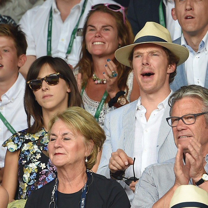 Benedict Cumberbatch and wife Sophie Hunter.