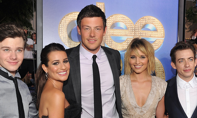 Glee Cast Members Pay Tribute To Cory Monteith