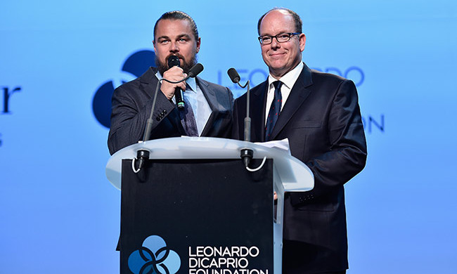 Leonardo DiCaprio and Prince Albert.
