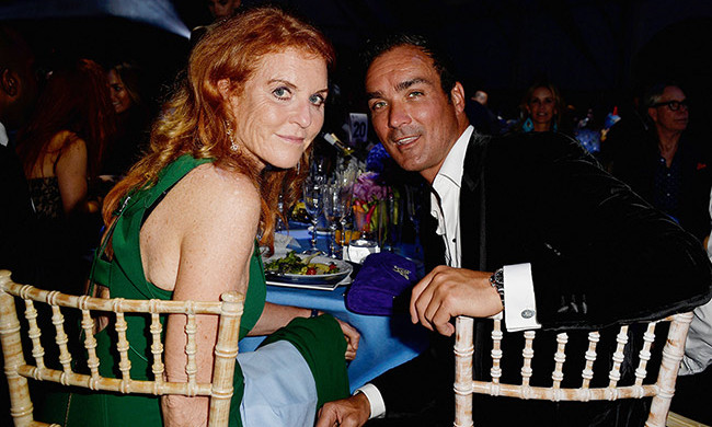 Sarah Ferguson and Manuel Fernandez.