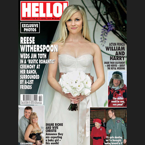 Reese Witherspoon Wedding Dress: Celebrities Who Wore Pink Wedding Dresses