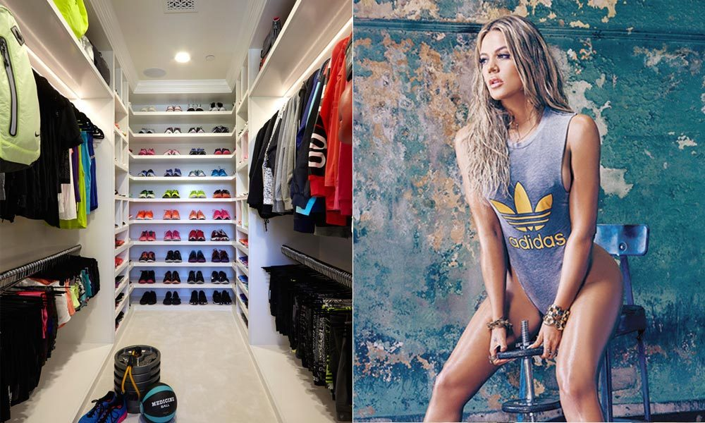 Khlo 233 Kardashian Keeps Her Workout Clothes In A Special