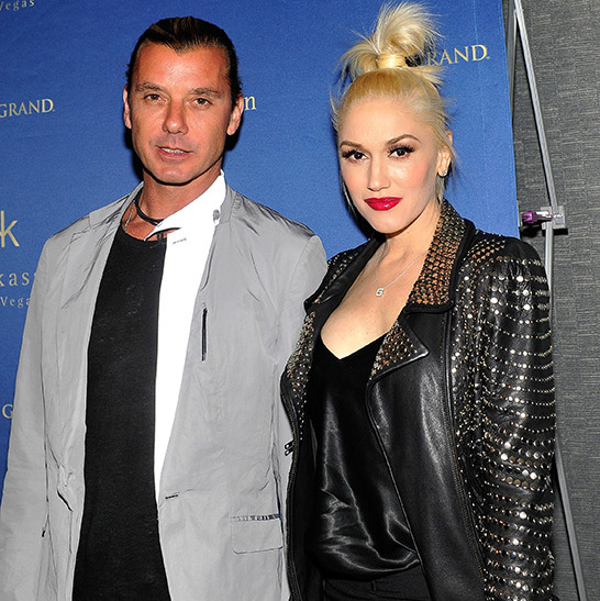Gwen Stefani and Gavin Rossdale