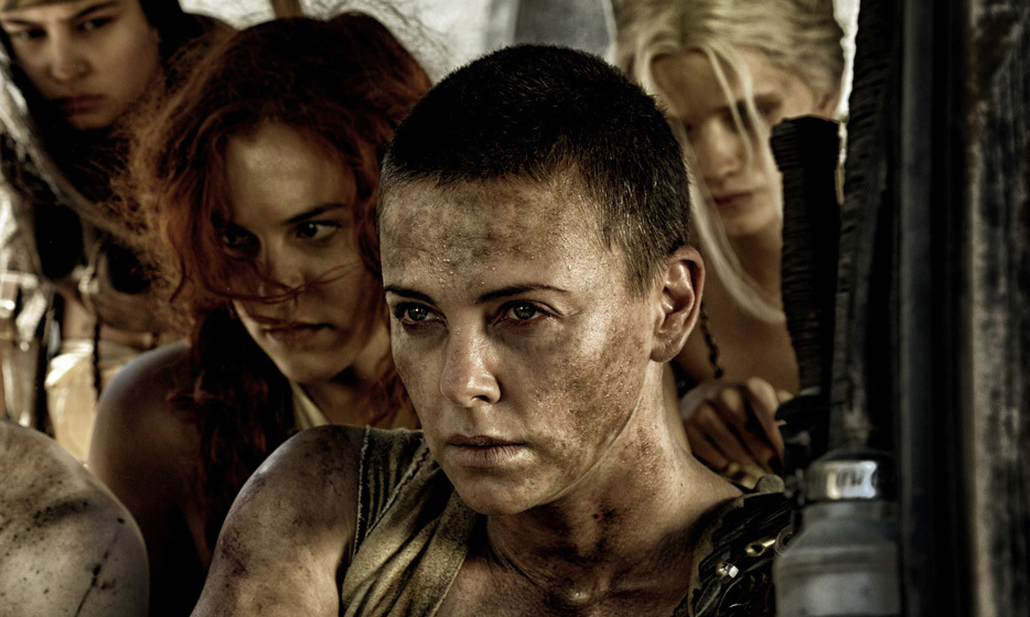 The stunning actress completely shaved off her natural blond locks for her role as Imperator Furiosa in 'Mad Max: Fury Road.' Clearly, her beauty is one that lasts through the ages! Photo: © Warner