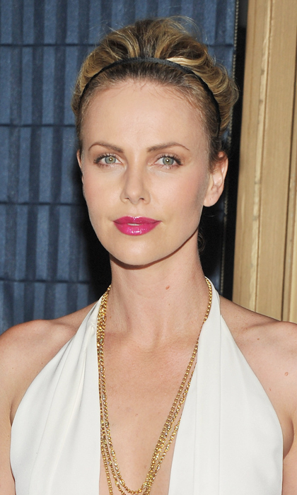 Charlize channels the perfect Greek goddess-look while being honoured with a career achievement award at the 2011 Gotham Independent Film Awards. Photo: © Getty Images