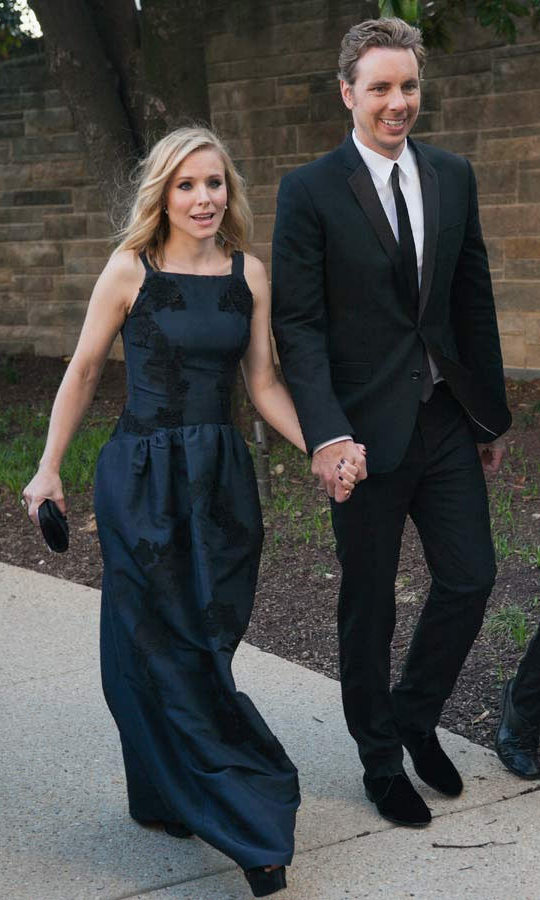 <h2>Kristen Bell and Dax Shepherd</h2>