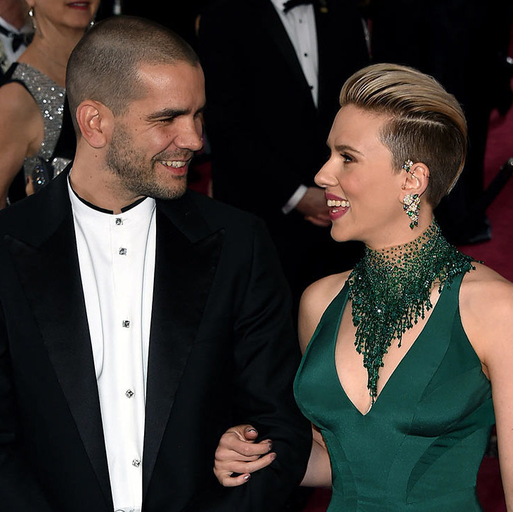 <h2>Scarlett Johansson and Romain Dauriac</h2>