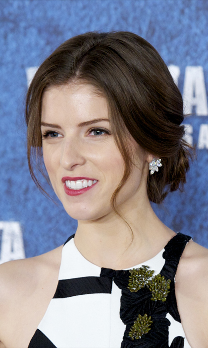 "Anna Kendrick: She's tiny and feisty, and like any good BFF, the 'Pitch Perfect' star leverages her quick wit to avoid a potentially awkward encounter or deliver a stinging quip when necessary. She also has the perfect justification for the importance of carbs and sugar in the morning, ""If the frosting has cream cheese it counts as breakfast, right?"" she posted on Instagram. Photo: © Getty Images"