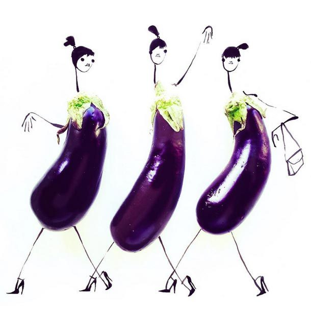 """Eggplant is the Monday of vegetables. #""