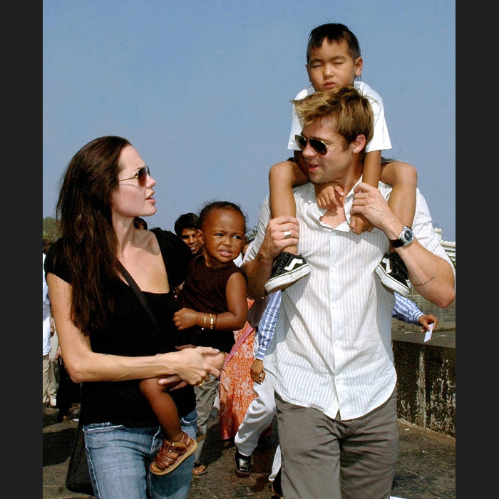 Angelina on keeping the family together:
