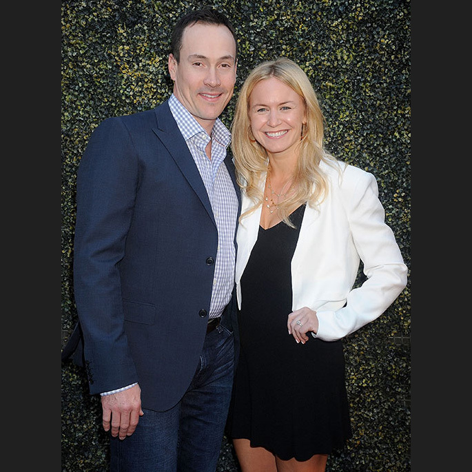 Chris Klein and Laina Rose Thyfault