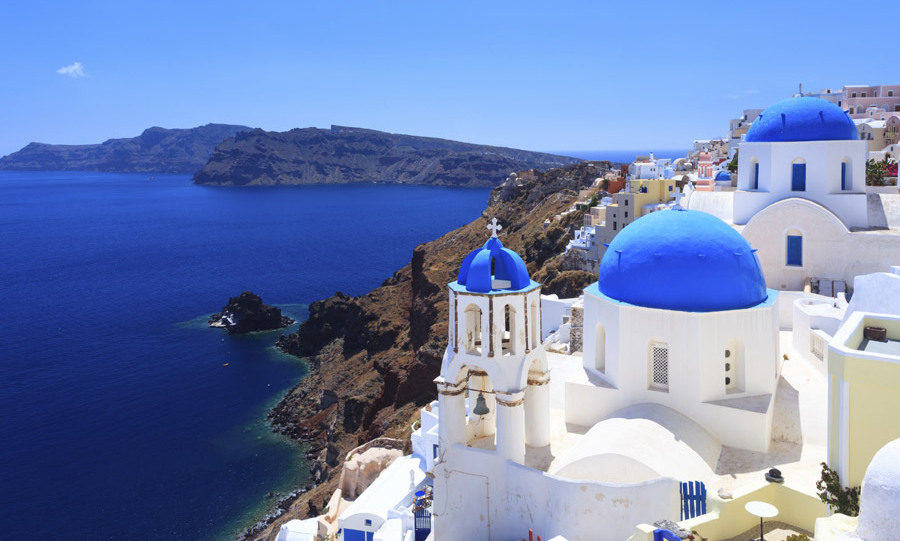 18. SANTORINI, GREECE
