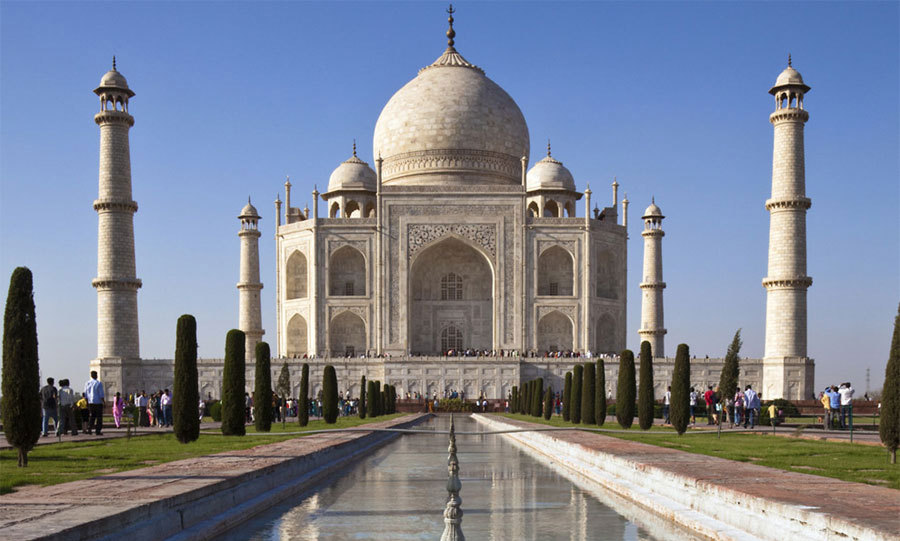5. TAJ MAHAL, INDIA