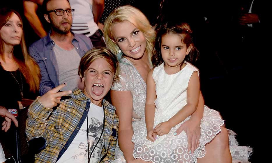 Pop princess Britney Spears made a night out at the Teen Choice Awards a family affair by bringing along her sons, Sean Preston and Jayden (not pictured), and niece Lexie. The Las Vegas headliner took home the award for 'Style Icon of the Year.' 