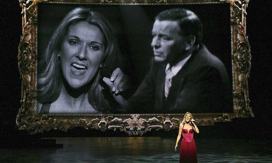 "During the 500th performance of ""A New Day..."" in 2006, the singer delivered a memorable duet with the late Frank Sinatra.