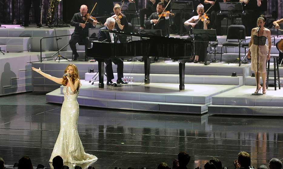What a show! Celine debuts her new production on March 15, 2011. 