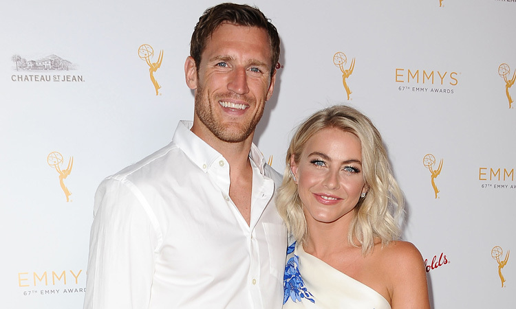 Julianne Hough and Brooks Laich make first appearance ...