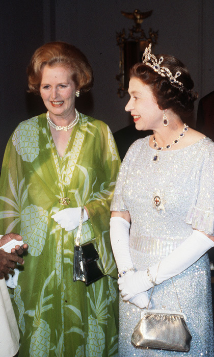 "LADIES FIRST, 1979: Margaret Thatcher became Britain's first female prime minister in May 1979, saying when she took office, ""Where there is discord, may we bring harmony."" In August, she joined the Queen in Zambia to attend her first Commonwealth conference as PM.