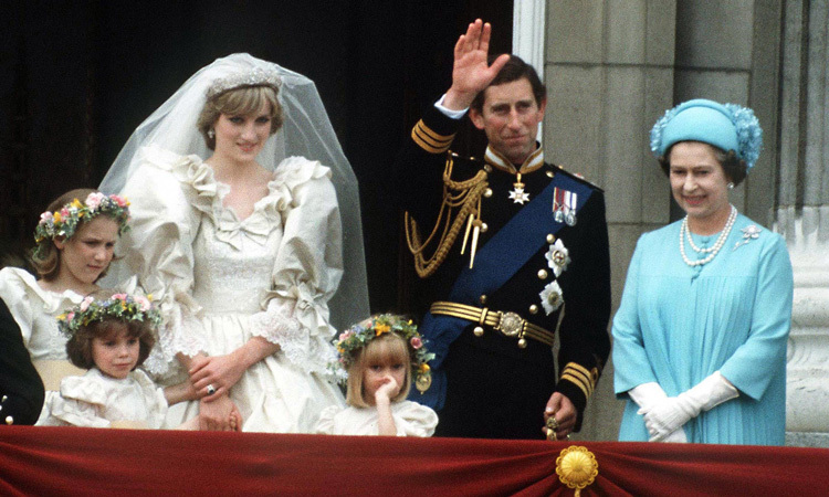 THE WORLD CELEBRATES, 1981: From the moment the media learned that Prince Charles had developed a romantic interest in a 19-year-old kindergarten assistant, the fascination with Lady Diana Spencer grew. By the time the couple married on July 29, 1981, the excitement was at fever pitch, prompting more than 750 million around the world to watch their wedding on TV.