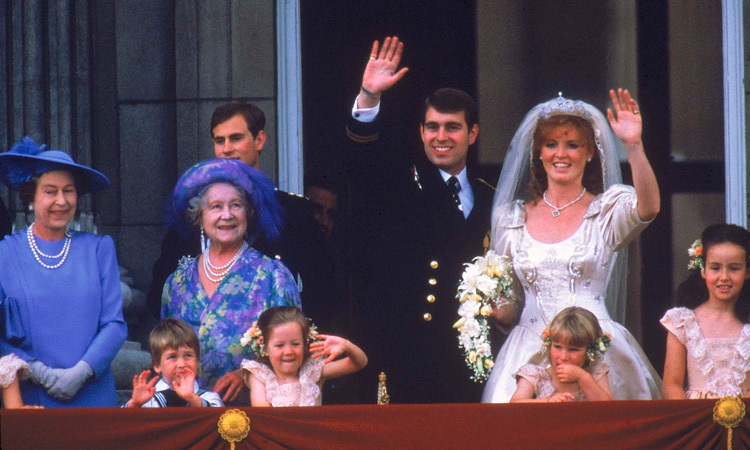 THE WORLD CELEBRATES, 1986: Royal watchers were captivated by Prince Andrew and Sarah Ferguson's lavish nuptials.