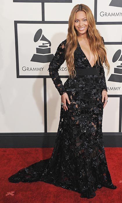 Topping best-dressed lists around the world at the 2015 Grammy awards.