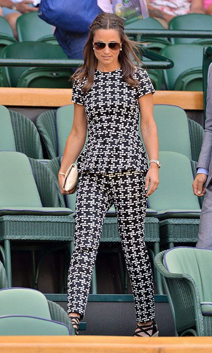 SHE TAKES FASHION RISKS:
