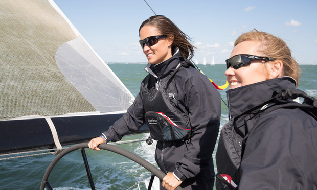 SHE CAN SAIL: