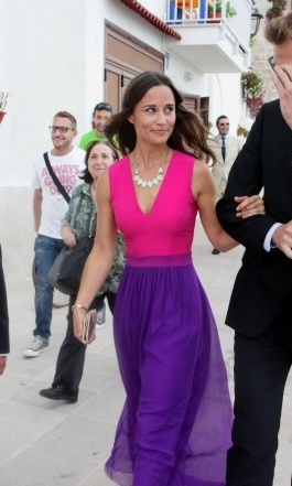 SHE'S NOT AFRAID TO MAKE A COLOURFUL STATEMENT: 