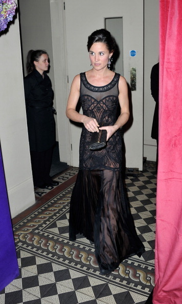 SHE MAKES BLACK ANYTHING BUT BORING: 