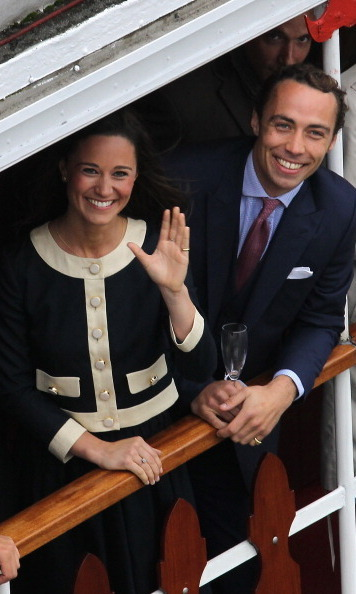 SHE FITS RIGHT IN WITH THE ROYALS: