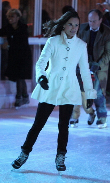 SKATING'S NO CHALLENGE: