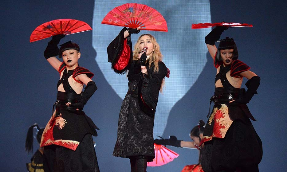 Madonna kicks off her Rebel Tour in Montreal. 