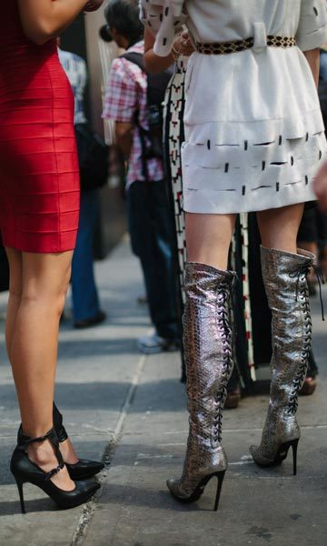 Street style from New York Fashion Week.