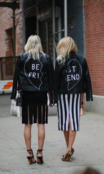 New York Fashion Week isn't all about the runways - a wealth of fashion inspiration lies on the streets of the Big Apple where the well-heeled style-setters show off their best looks.