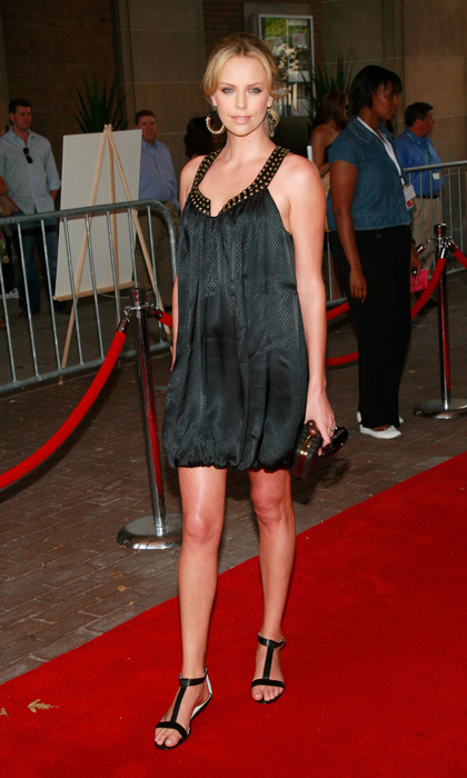 A radiant Cameron Diaz walked the red carpet for 'Battle In Seattle' in 2007, clad in a studded, silky mini and t-strap sandals.