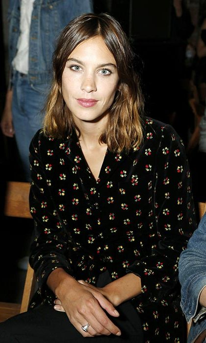 Alexa Chung at Opening Ceremony.