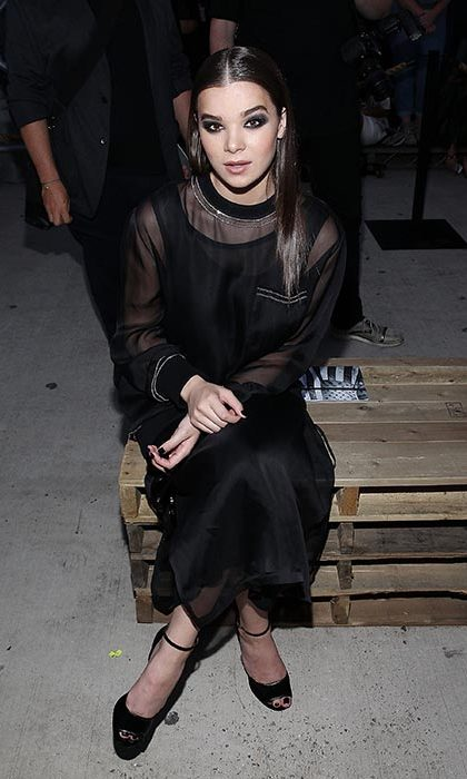 Hailee Steinfeld at Givenchy.