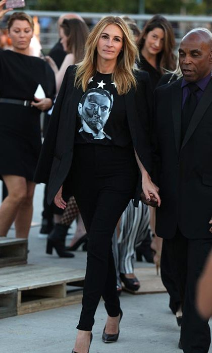 Julia Roberts at Givenchy.