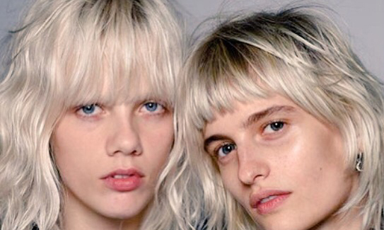 "Diane Kendall went ""raw and natural"" for Alexander Wang's 10th anniversary show. Aggressively cool, naturally."