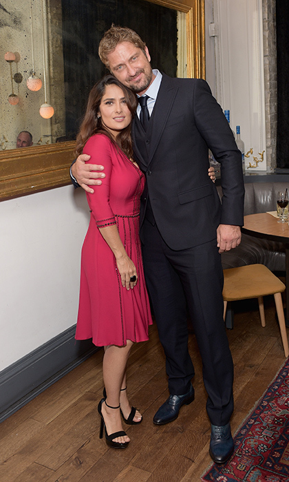 Salma Hayek and Gerard Butler