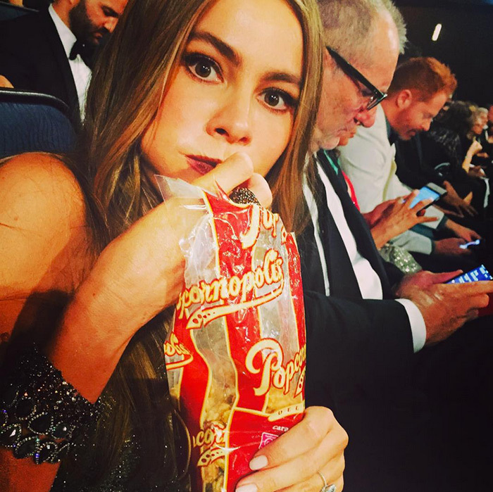 "@sofiavergara ""Contraband at the Emmys""