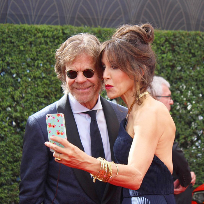 "@televisionacad ""The couple that selfies together stays together! #WilliamHMacyand #FelicityHuffman #Emmys #Selfie#Shameless #AmericanCrime""