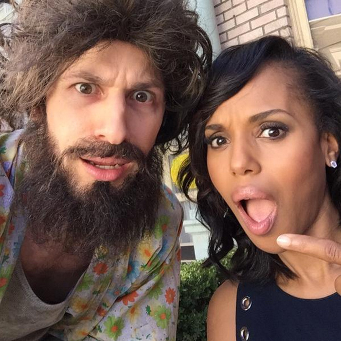 "‏@thelonelyisland ""Big thank you to @kerrywashington #Emmys #andysambergandkerrywashingtonshouldobviouslybeinamovietogether 