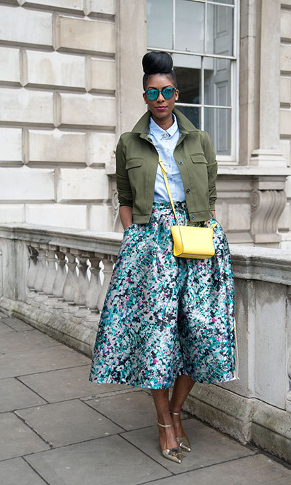 Top, jacket and shoes: Topshop