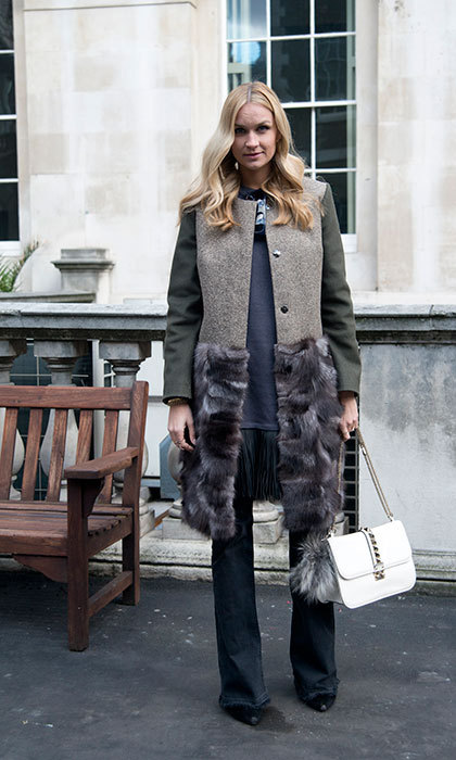 Coat: Jenny Burch