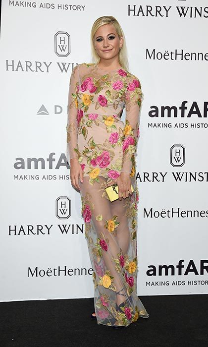 Pixie Lott at the amfAR gala.