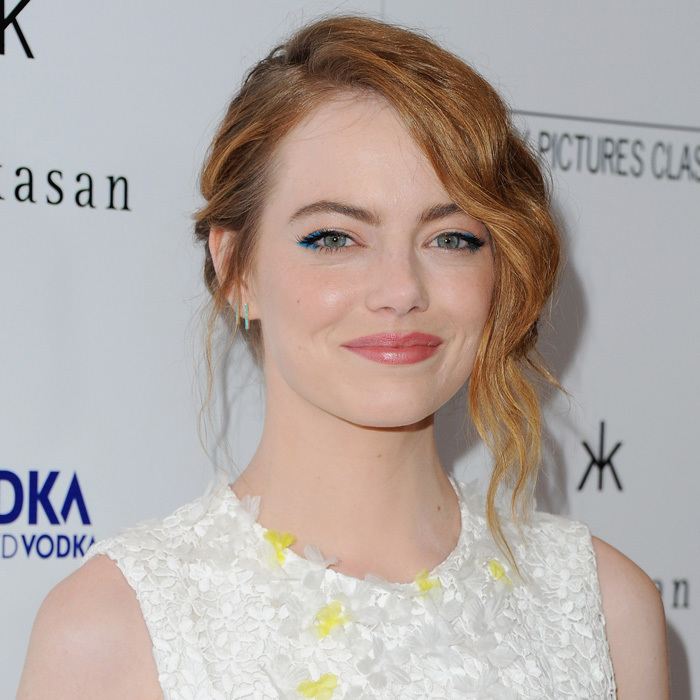 After playing matchmaker, Emma Stone presided over the 2012 wedding of her publicist, Holly Shakoor, to 'Gangster Squad' director Ruben Fleischer.