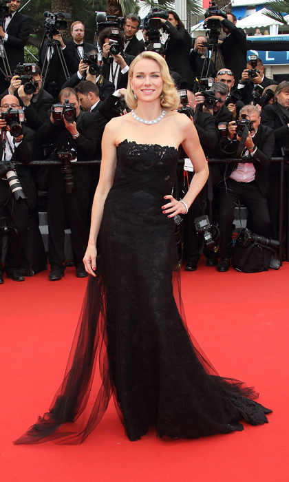 Naomi Watts never misses a beat on the red carpet and Ralph's strapless lace column gown helped her maintain her flawless record at the Cannes Film Festival in 2015. 