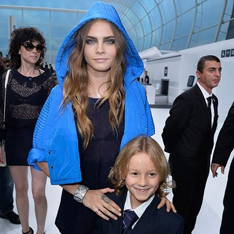 Cara Delevingne and Hudson Kroenig.