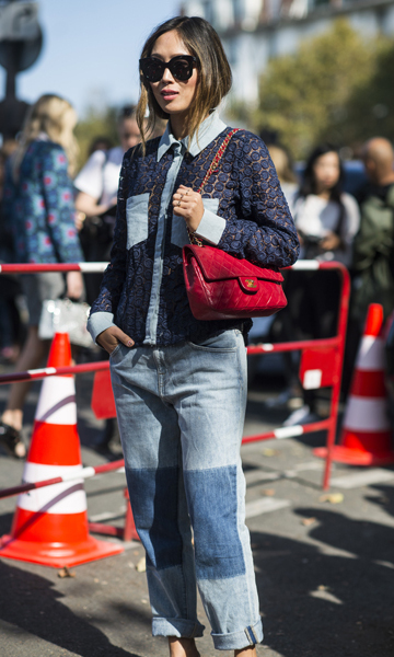 The best street style pictures from Paris Fashion Week SS16.